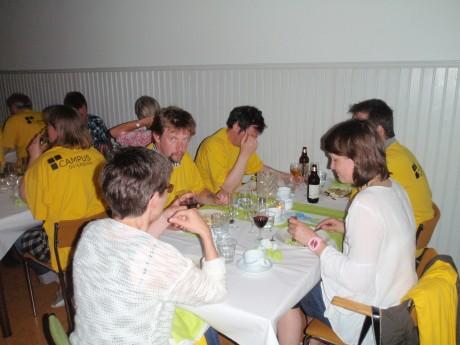 middag med gula laget